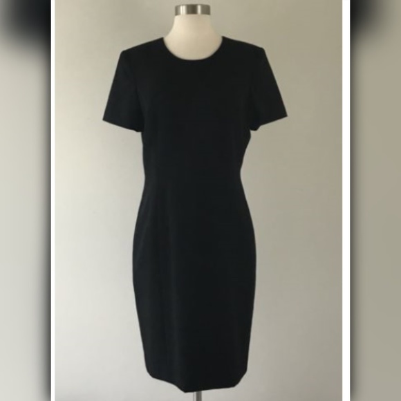 Austin Reed Dresses Austin Reed Black Worsted Wool A Line Dress Sz 8 Poshmark